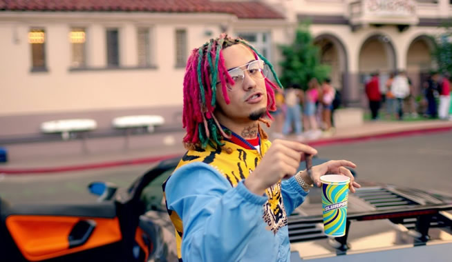 "Lil Pump – ""Gucci Gang"" (Personal Stylist)"